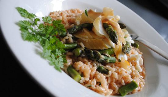 Bradley Smoked Haddock & Asparagus Risotto
