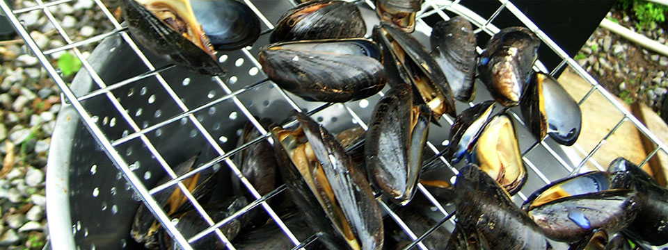 Seafood Salad with Cold Smoked Mussels